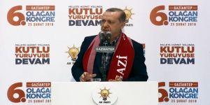 Cumhurbaşkanı Erdoğan,Şehadete bu millet açtır, aç