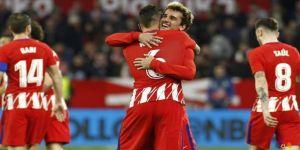 Atletico Madrid, Sevilla'yı 5-2 mağlup etti