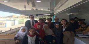 Matematik Müzesi, savaş mağduru çocukların ayağına gitti