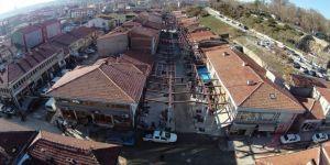Tarih Uzun Çarşı'da restorasyon çalışmaları