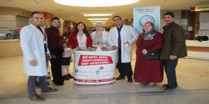 Kanser bilgilendirme standı açıldı