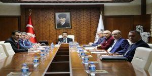 Vali Aktaş Başkanlığında KAPHİB toplantısı yapıldı