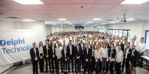 Delphi Technologies'in Başkanı Butterworth, fabrikaları ziyaret etti