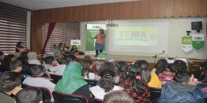 TEMA Vakfından öğrencilere bilgilendirme semineri