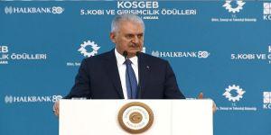 Başbakan Yıldırım'dan KOBİ'lere müjde