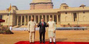 Ürdün Kralı, Yeni Delhi'de