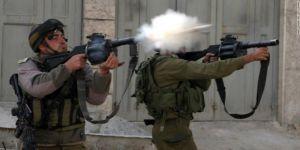 Bebekli anneye gaz bombası attı !