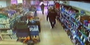 17 bin liralık silahlı market soygunu