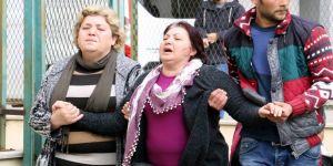 Genç kadının yakınları sinir krizi geçirdi