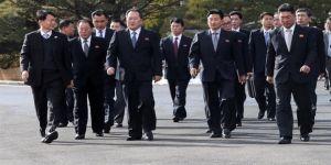 Güney Kore heyeti Kuzey Kore'de