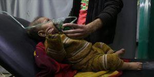 Rejim, Doğu Guta'da yine kimyasal silah kullandı