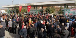 Şeker Fabrikasının özelleştirilmesi protesto edildi