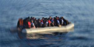 Göçmenleri taşıyan bot battı: 14 ölü