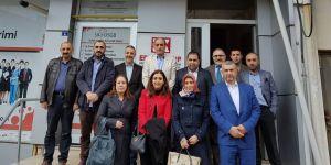 CHP'den MAGİAD'a ziyaret