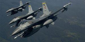 Kuzey Irak'ta hava harekatı: 8 hedef imha edildi