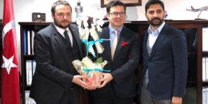 AK Parti'li gençlerden Nalbant'a ziyaret