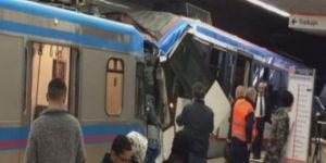 Tramvaylar çarpıştı