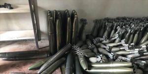 Racu'da ağır silah mühimmatı ele geçirildi