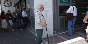 Yunanistan'daki kriz!