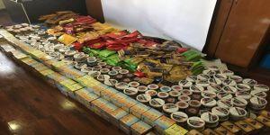Çocuk Şube Ekipleri 980 kilogram kaçak nargile tütünü yakaladı