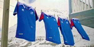 İzlanda, Dünya Kupası'nda giyeceği formaları tanıttı