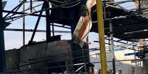 Fabrikada korkutan patlama