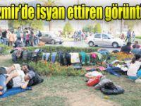 'İzmir çadırkent alanı değil'