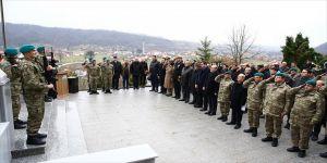 Bosna Hersek'teki Türk Şehitliğinde şehitler anıldı