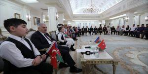 Türkiye-Azerbaycan şehit çocukları buluştu