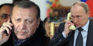 Erdoğan, Putin'i tebrik etti!