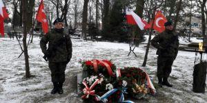 Türk askerleri Polonya'da anıldı
