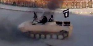 DEAŞ'ın tankçısı yakalandı