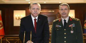 Afrin'in Kurtuluşunun Ardından Erdoğan ve Akar'dan İlk Zirve!