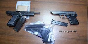 Uyuşturucu ve silah operasyonu