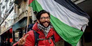 İsrail zulmüne karşı yürüyor