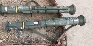 2 adet AT-4 tanksavar silahı ele geçirildi