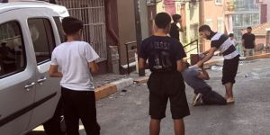 Çocukların gözü önünde bonzai krizine girdi