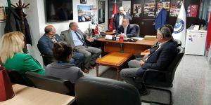 CHP, sendika ziyaretlerini sürdürüyor