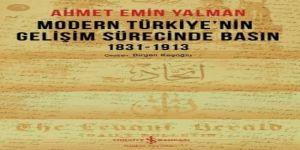 """""""Modern Türkiye'nin Gelişim Sürecinde Basın"""" kitabı raflarda"""