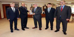 Başkan Karaosmanoğlu, Faruk Bilir'i ağırladı