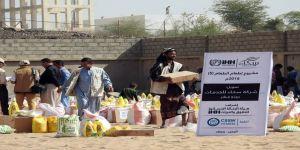 İHH'dan 30 bin Yemenliye insani yardım