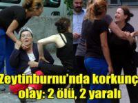 İstanbul Zeytinburnu'nda dehşet: 2 ölü, 2 yaralı