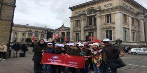 Türk öğrenciler bilim tarihini İngiltere'ye taşıdı