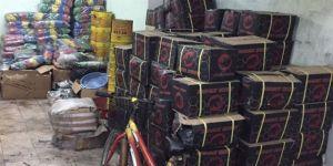 80 kilo kaçak nargile tütünü ele geçirildi