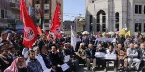 Şehit cesetlerine el koyan İsrail protesto edildi
