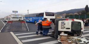 Kocaeli'de zincirleme kaza: 4 araç birbirine girdi