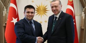 Erdoğan, Ukrayna Dışişleri Bakanını kabul etti