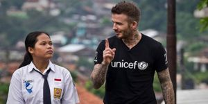 David Beckham Endonezya'da