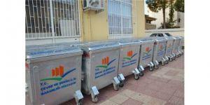 Günde 100 konteyner dezenfekte ediliyor