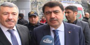 Vali Şahin, yaralı polisleri ziyaret etti